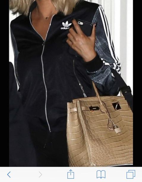 blouse khloe kardashian adidas jacket