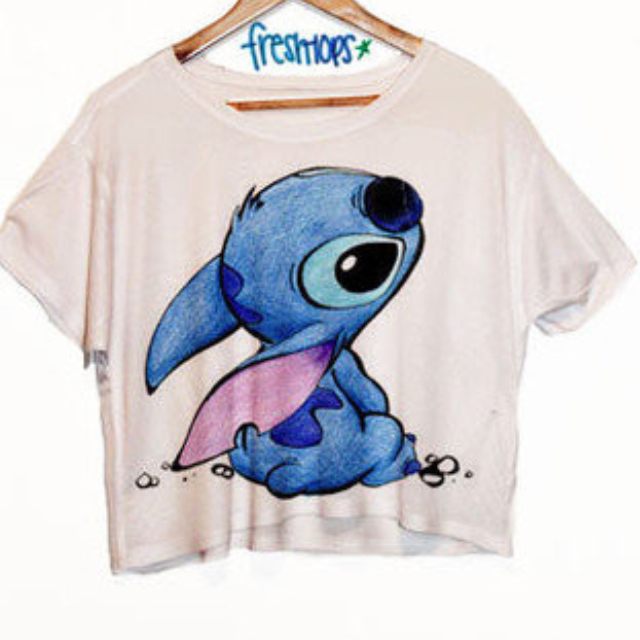 STITCH CROP TOP