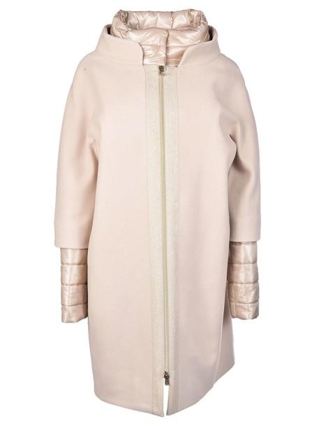 Herno coat layered