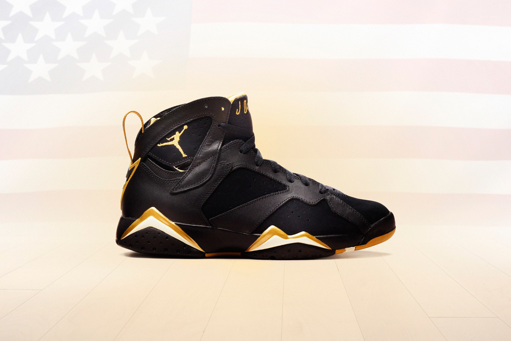 "Air Jordan VI & VII Retro ""Golden Moments"" Pack 