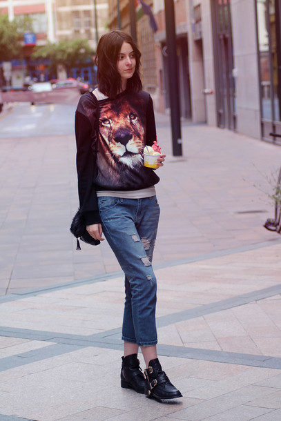 mes memos sweater jeans shoes bag jewels