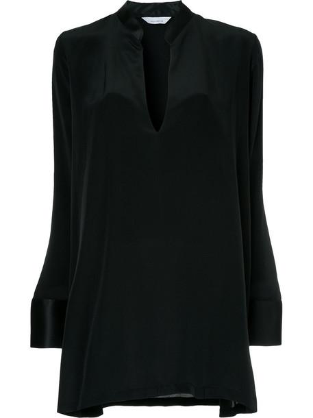 Kacey Devlin dress mini dress mini women black silk