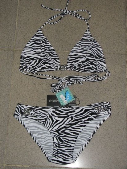 Dolce & Gabbana Women's Swimwear Zebra Bikini Black [bikini360188] - $46.58 : Ed Hardy Bikini online, Discount Ralph Lauren Bikini hot sale
