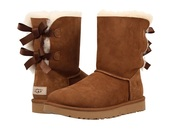 shoes,ugg boots,uggs boots bailey bow brown,boots
