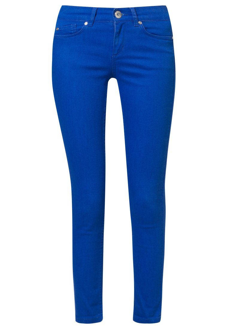Oasis CHERRY CROP - Jeans Slim Fit - blue - Zalando.de