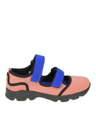 sneakers. sneakers pink neoprene rose shoes