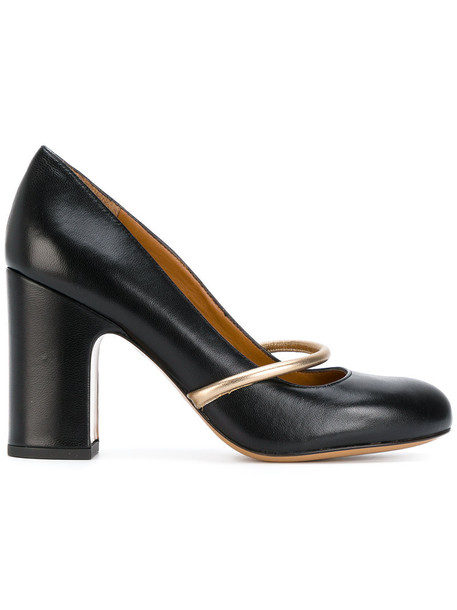 Chie Mihara women pumps leather black shoes
