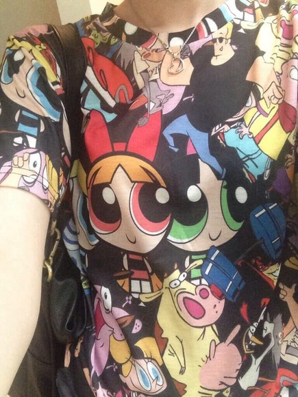 cartoon shirt t-shirt t shirt
