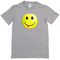 Silly smiley face with tongue t-shirt - basic tees shop