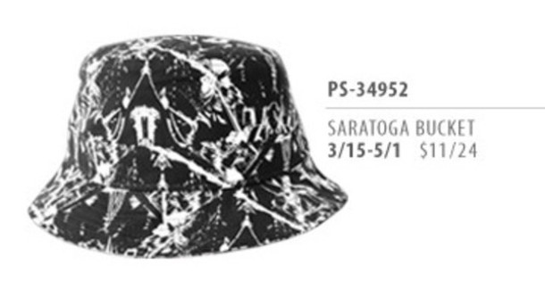 hat original chuck chuck originals bucket hat black bucket hat black and white bucket hat style fresh looks chuck quality goods headwear marble printed bucket hat