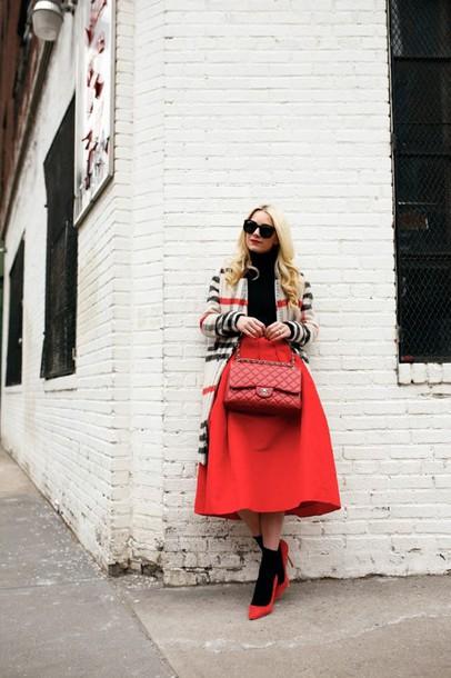 atlantic pacific blogger skirt shoes bag jacket