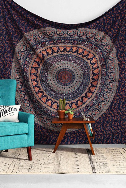 Home accessory wall tapestry hippie bedroom tumblr bedroom