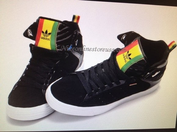 rasta bob marley shoes