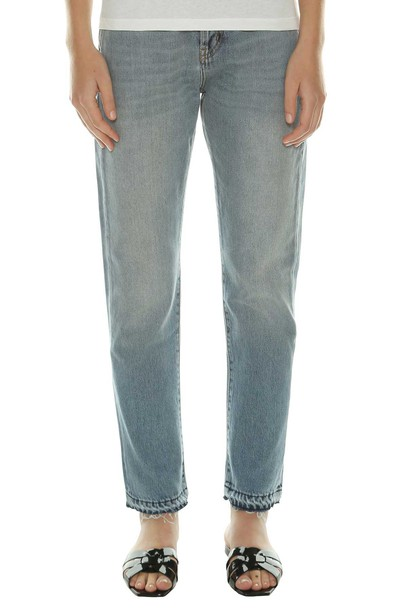 Saint Laurent jeans denim vintage blue