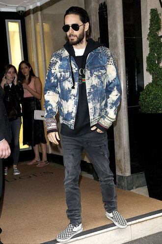 jacket jeans menswear hoodie mens jacket mens shoes jared leto