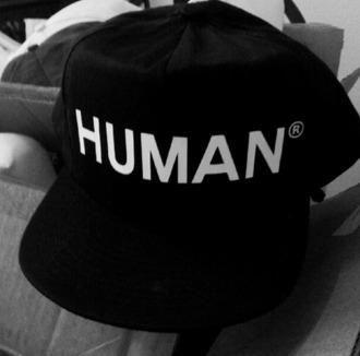 hat human menswear girls black white found on tumblr