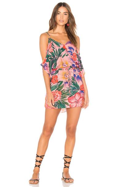 Salinas dress mini dress mini pink