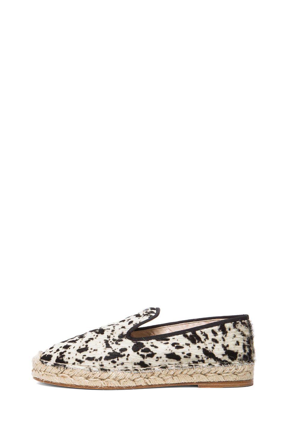 Elyse Walker Los Angeles|Calf Hair Espadrilles in Gacela