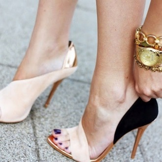 shoes high heels nude shoes