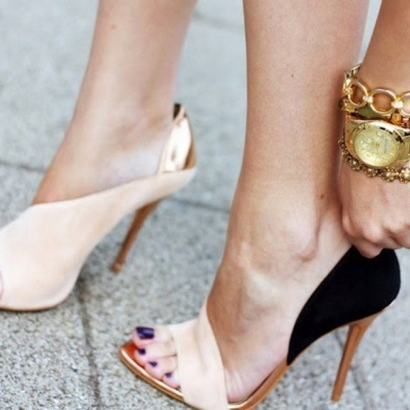 nude shoes shoes high heels