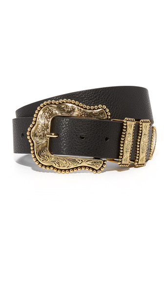 B-Low The Belt Dakota Belt - Black/Gold