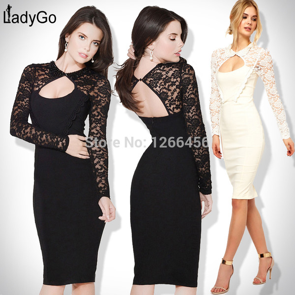 lace dress bandage dress party dress red carpet dress 2014 fashion dress