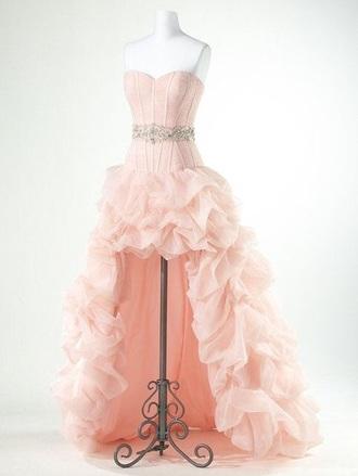 dress pink dress sleeveless dress