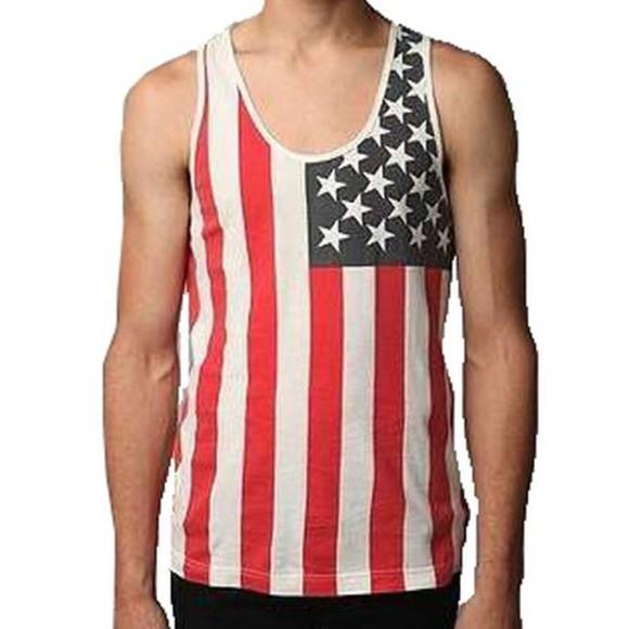 flag hipster blouse kardashians usa flag american hippie star nebula jennifer beyoncé menswear menswear masc masculine
