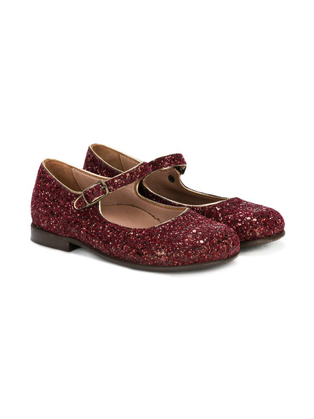 PePe glitter leather red 24 shoes