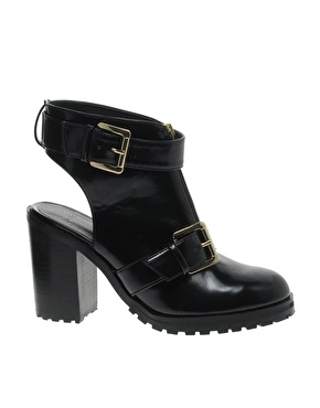 ASOS | ASOS AUCKLAND Cut Out Ankle Boots at ASOS