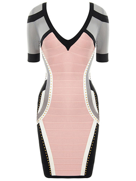 pink dress grey dress pink maxi dress