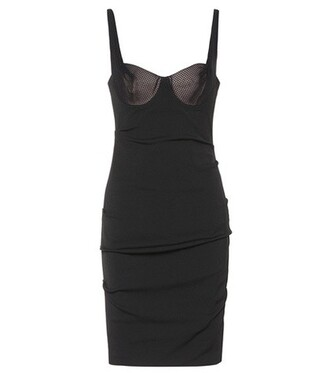 dress sleeveless cotton black
