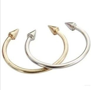 DOUBLE SPIKE BANGLE - Rings & Tings | Online fashion store | Shop the latest trends