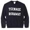 Teenage runaway sweatshirt (black) - london loves la