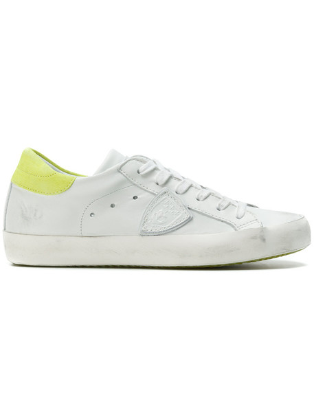 Philippe Model paris women sneakers lace leather white shoes