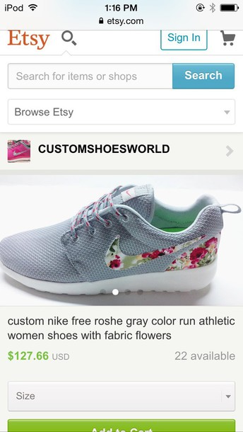shoes nike air nike running shoes nike shoes floral shoes