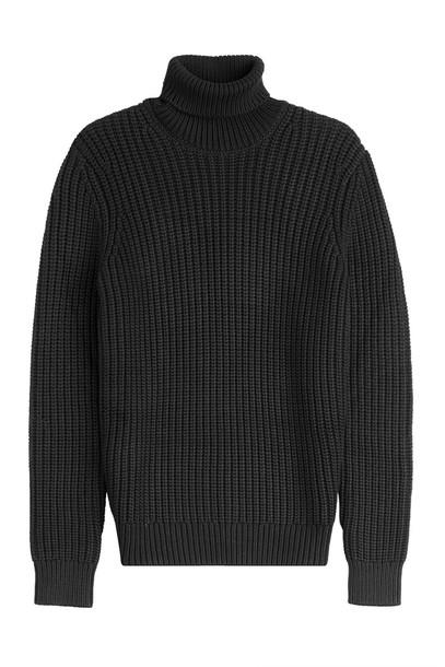 Michael Kors Collection turtleneck black sweater