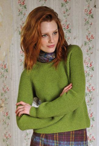 Ribbed Jumper - Cashmere Sweater   Brora