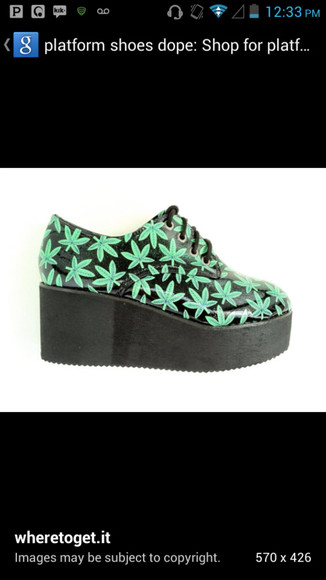 platform shoes black weed platforms blackshoes