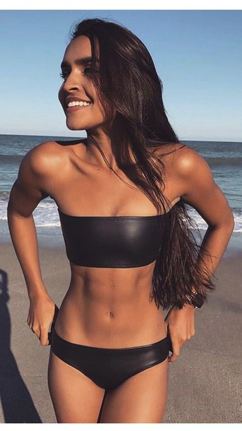 swimwear black