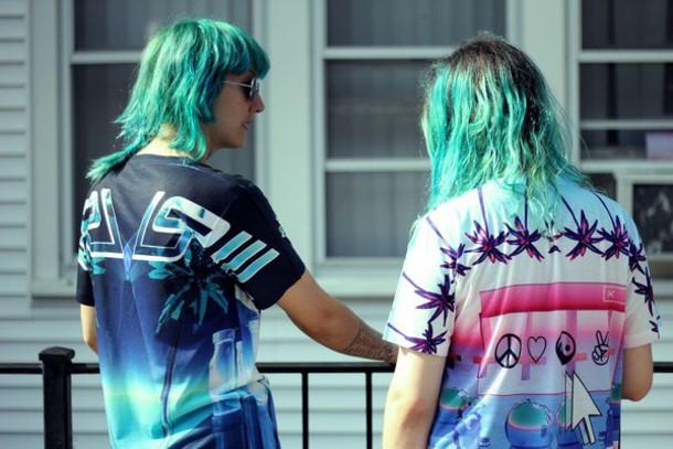 shirt kawaii kawaii grunge style fashion grunge soft grunge seapunk seapunk