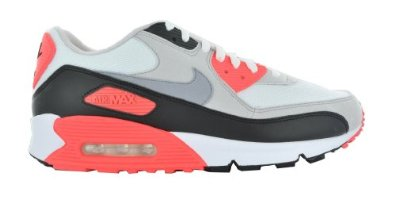 e91946d10c Amazon.com: Nike Air Max 90 Retro 325018-107 Grey Running Shoes: Shoes