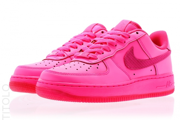 314219-602 Nike Air Force 1 (GS) Titolo Hyper Pink/Vivid Pink