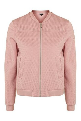 jacket bomber jacket pink dusty pink