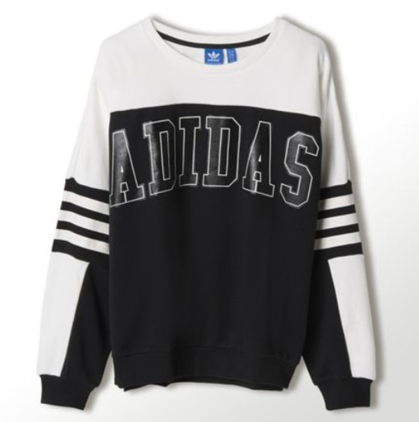 adidas black and white cool girl style