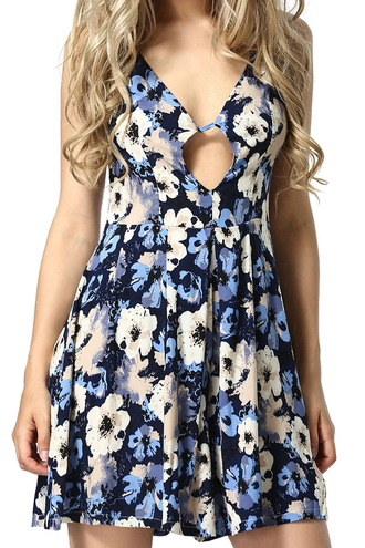 romper dress floral floral pattern floral romper jumpsuit blue black floral black floral jumpsuit floral dress zaful summer summer outfits casual casual outfits summer hipster mini romper sleeveless sleeveless romper blue romper