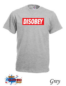 Disobey Dope Mens Micky Mouse Hands Mac Obey T-SHIRT S-2XL Grey | eBay