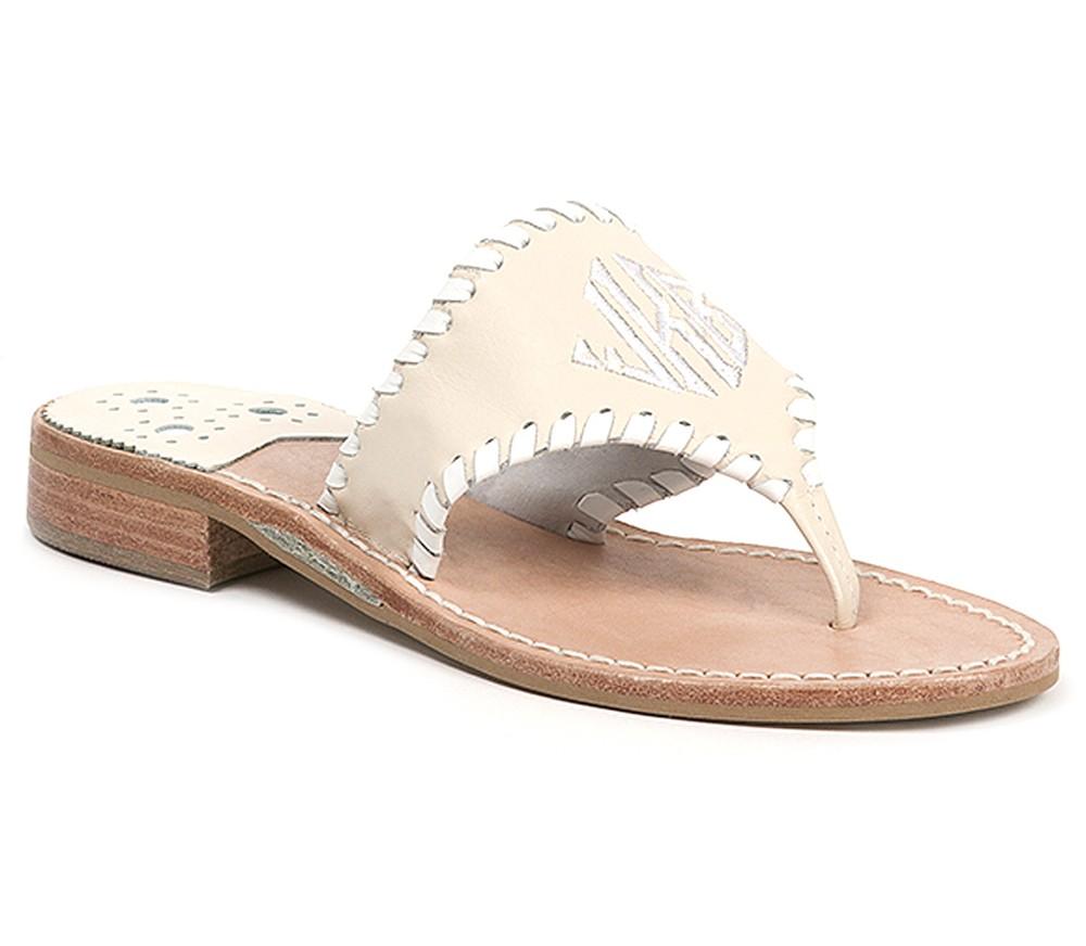 Sandals shoes usa - Monogrammed Sandal Sandals Shoes Jack Rogers Usa