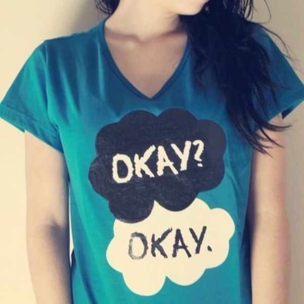 shirt the fault in out stars t-shirt