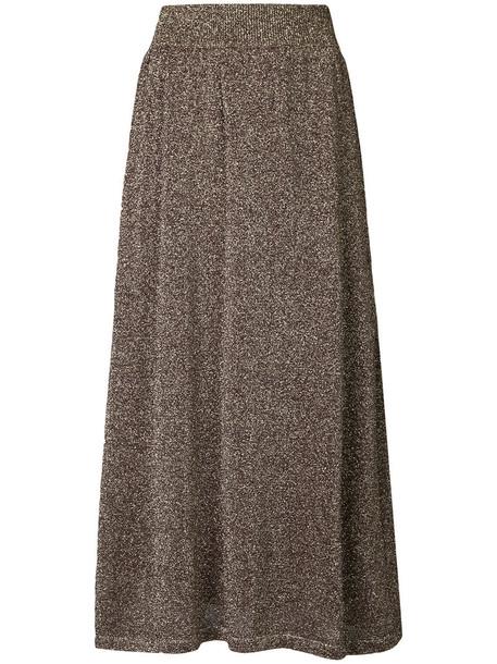 Estnation skirt glitter women brown